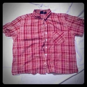Erika women's plaid shirt